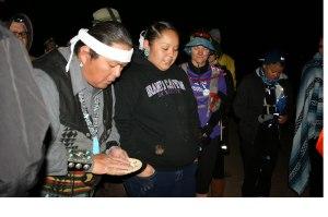 Pre-race Navajo prayer